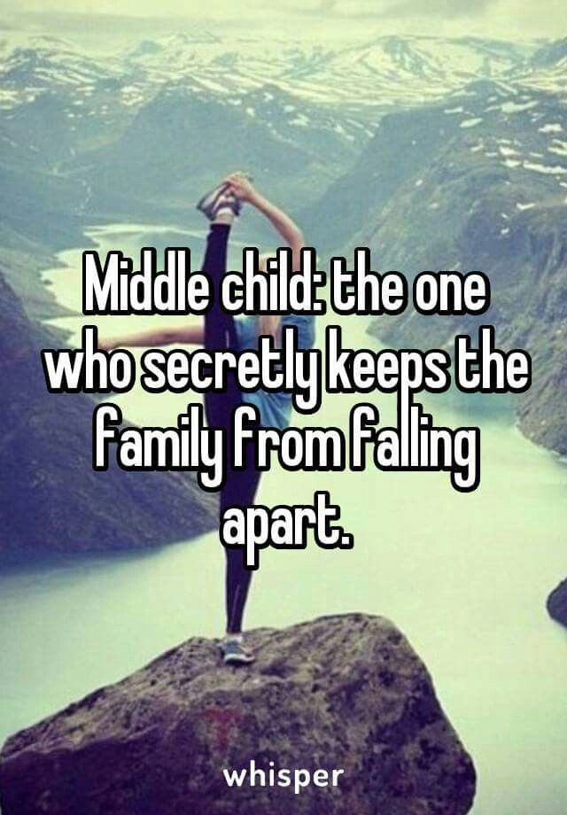 I'm the middle child!