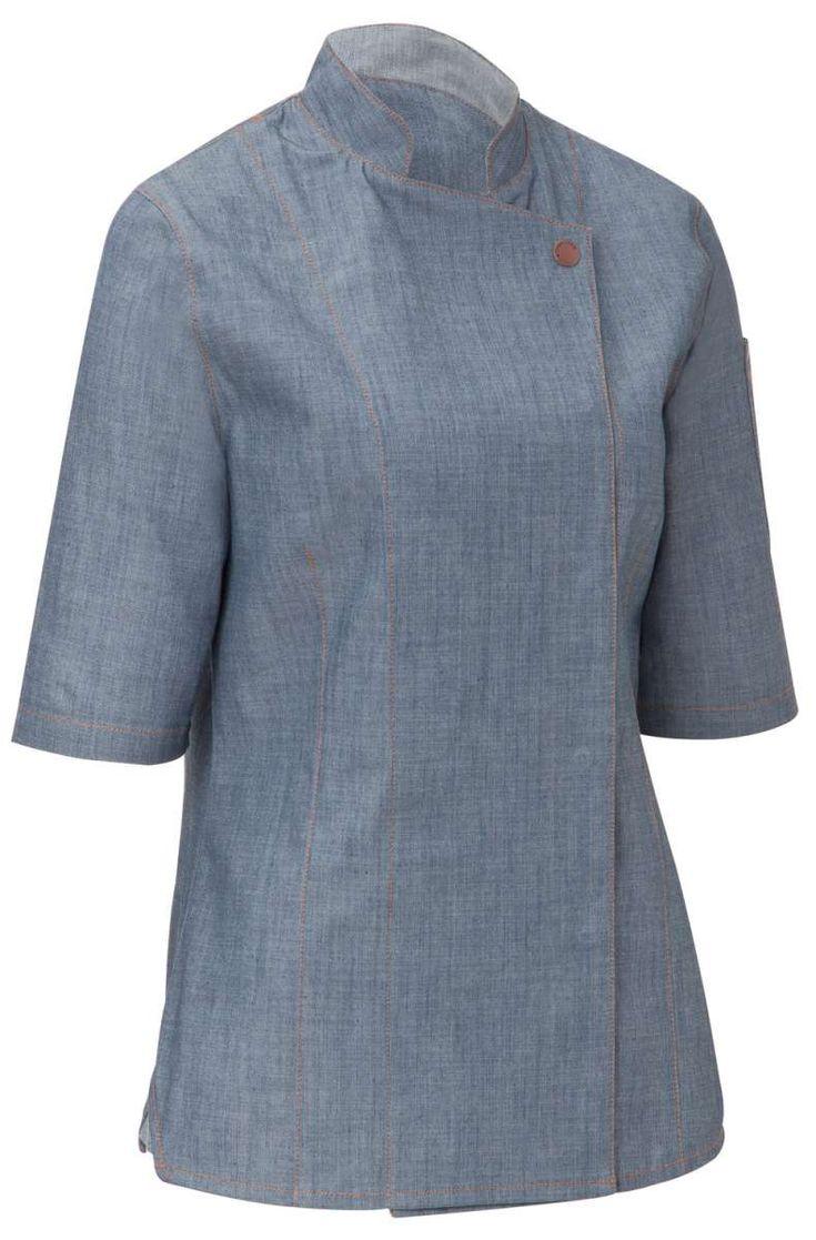 veste de cuisine femme scott - Veste De Cuisine Orange