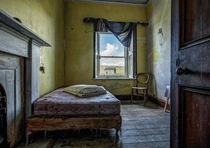 Ex-Buzzcocks drummer John Maher photographs abandoned crofts in the Outer…