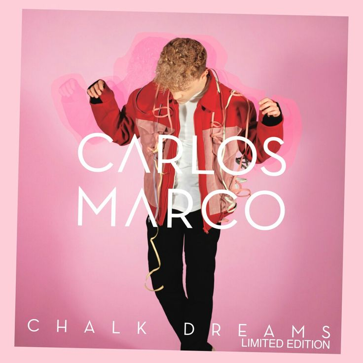 Carlos Marco: Chalk dreams (Limited edition) - 2017.