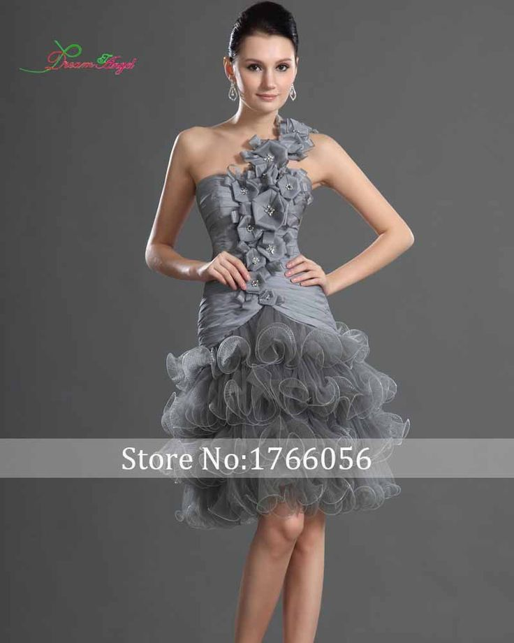 25+ Best Ideas About Gray Cocktail Dress On Pinterest