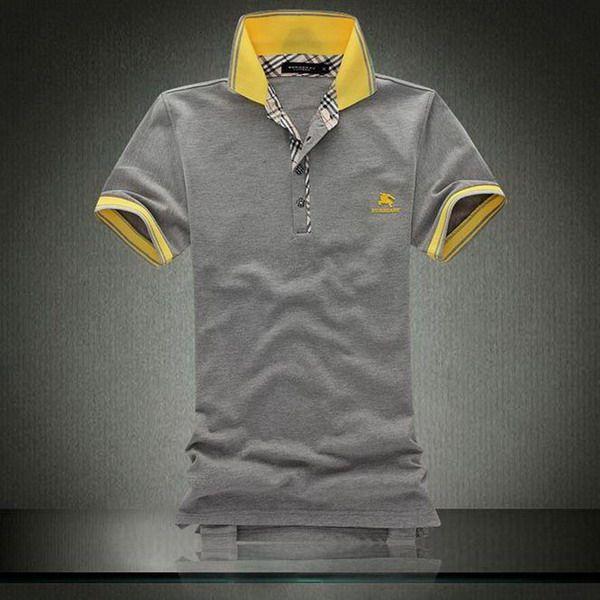 cheap ralph lauren Burberry Pique Cotton Collar Short Sleeve Men's Polo Shirt Grey http://www.poloshirtoutlet.us/