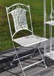 Romanttinen rautakaluste pöytä ja tuoli | Huonekalut Netistä Kotiisi | Uuttakotiin.fi
