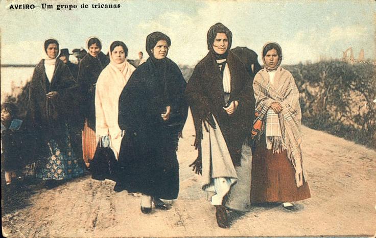 A group of tricanas, Aveiro, Portugal