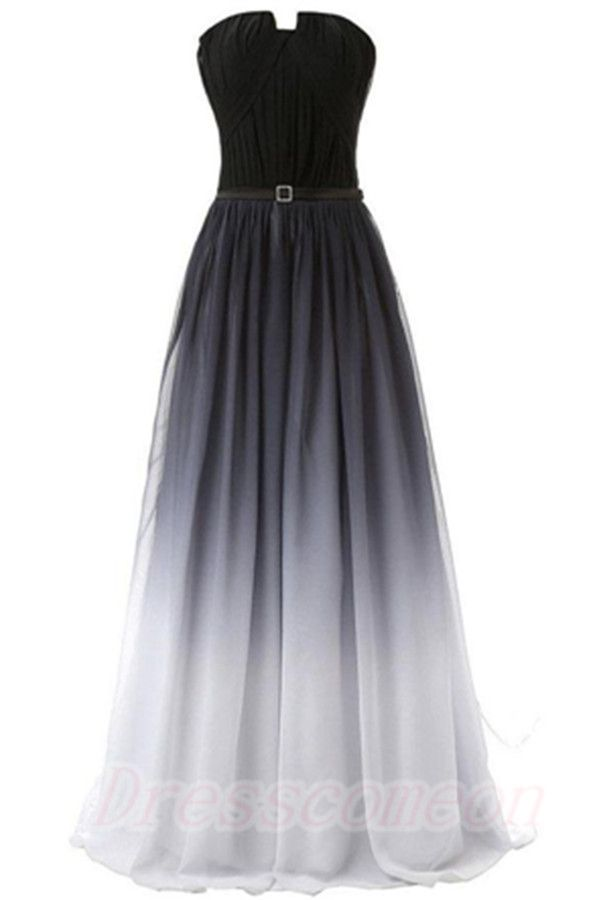 Beautiful long dresses for teenagers