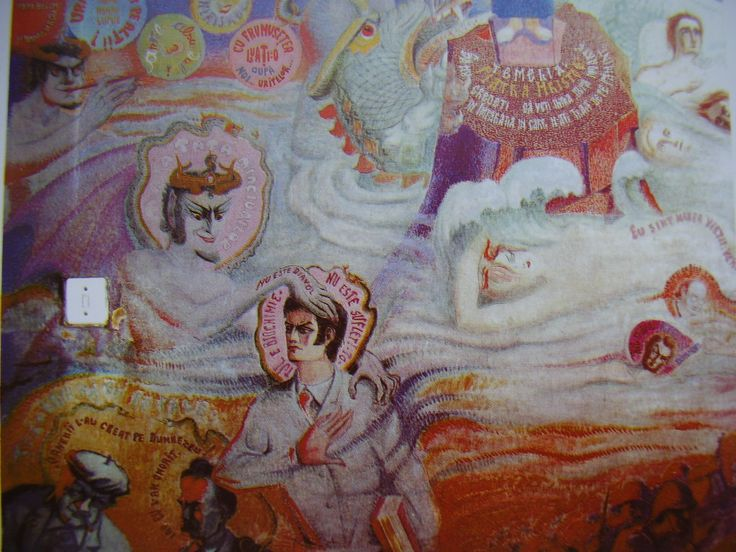 pictura biserica Draganescu - Parintele Arsenie Boca - mesaje