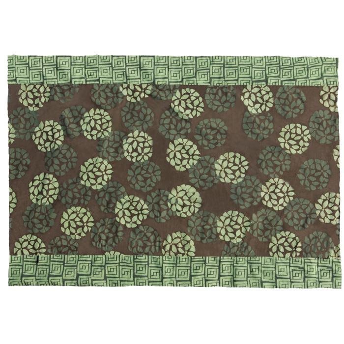 Big Village batik table cloth made by Global Mamas in Ghana, Africa available through Big Village.