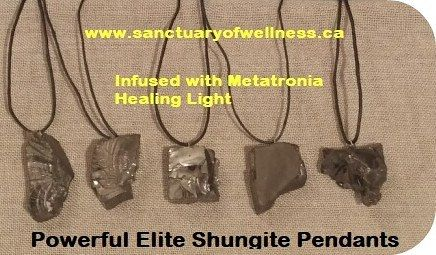 The Elite form of shungite is the purest and most powerful form. Shungite is known as the stone of life and has very powerful properties that can help to anchor/ground the physical body especially during shifts and changes that occur during the ascension process. Shungite revitalizes the physical and energy bodies, expands the root chakra and aura and neutralizes electromagnetic radiation. All of the new shungite products in stock have been infused with sacred Metatronia Therapy healing…