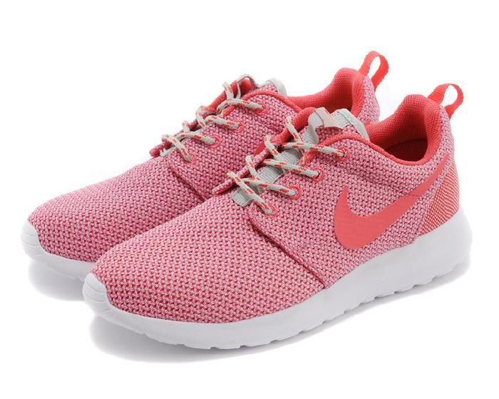 nike roshe run pink speckled trainers choice
