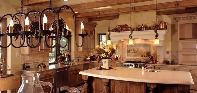 Rusztikus stílusú konyhák
