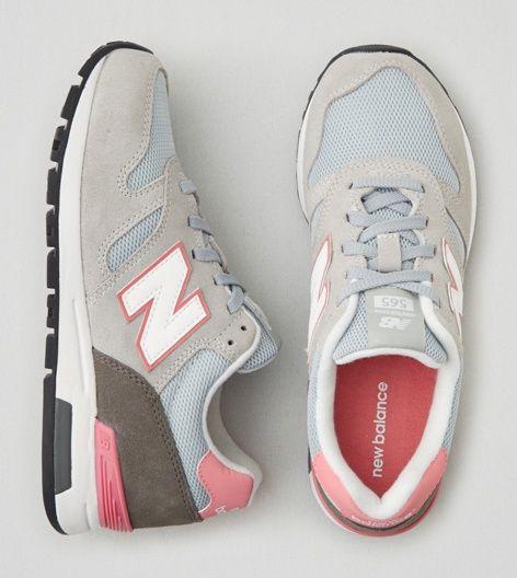 Grey New Balance 565 Sneaker $75
