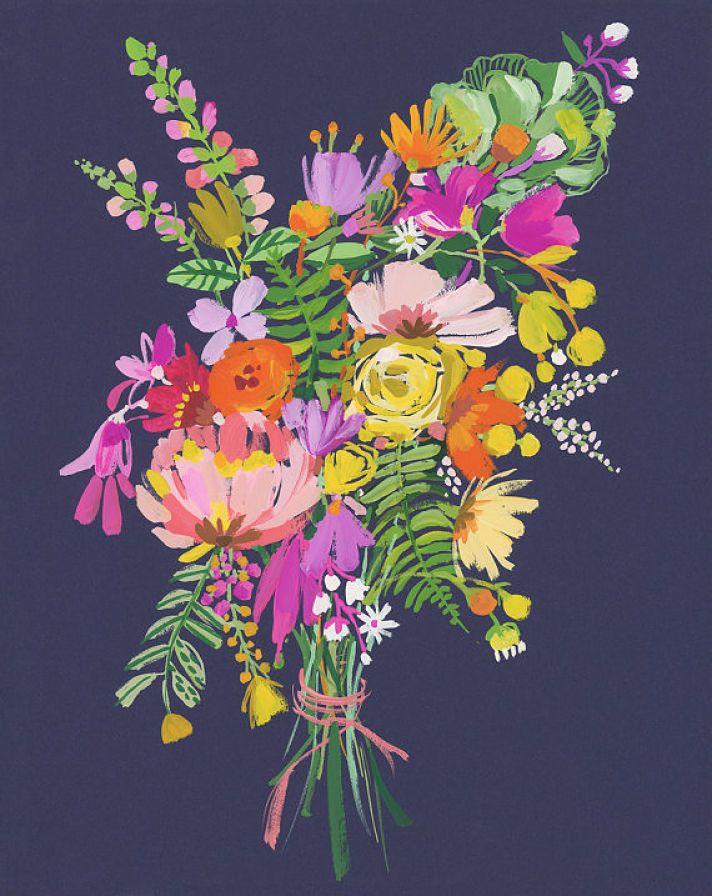Carolyn Gavin, flores y más flores
