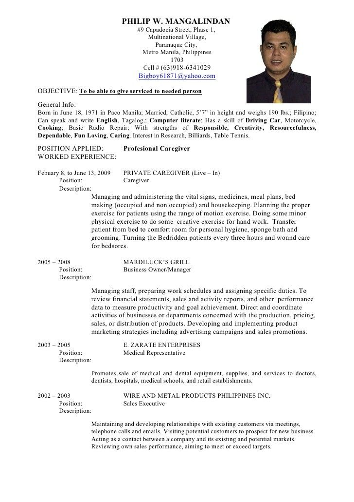 Curriculum Vitae Of Medical Technologist Five Facts You Never Knew About Curriculum Vitae Of Resume No Experience Sample Resume Resume Examples