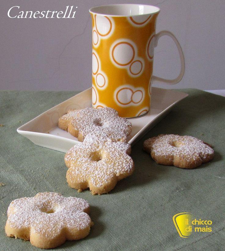 Biscotti canestrelli (ricetta con e senza glutine)