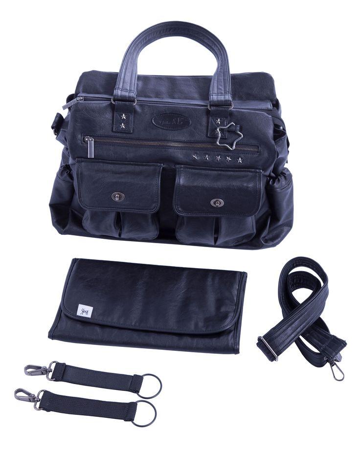 Pusletaske Carry Lux leveres altid med alt dette tilbehør.