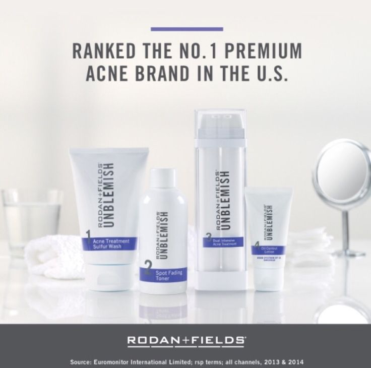 Can't kick your acne? Tired of paying a ton of money on products that don't work!? Try Rodan and Fields Acne Regimen. 60 day money back guarantee. What do you have to lose, besides your acne!
