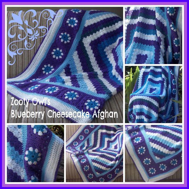 Zooty+Owl's+Crafty+Blog:+Diagonal+Box+Stitch+Afghan:++Blueberry+Cheesecake