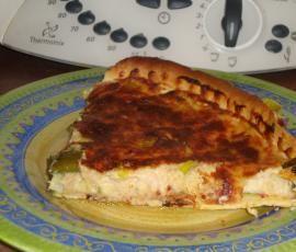 Recette Tarte aux poireaux, thon et moutarde par DELPH37 - recette de la catégorie Tartes et tourtes salées, pizzas