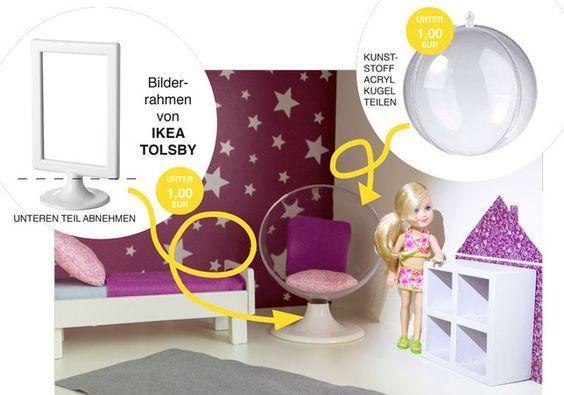 die besten 25 selbstgemachtes barbie haus ideen auf pinterest miniature barbie aufbewahrung. Black Bedroom Furniture Sets. Home Design Ideas