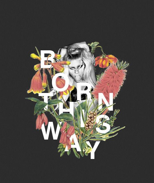 Bloodyxmary — Lady Gaga discography in vintage flowers