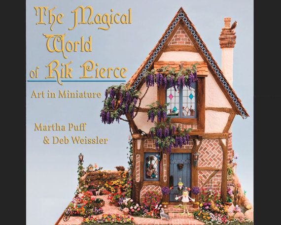 The Magical World of Rik Pierce  Dollhouse by FrogmortonStudios