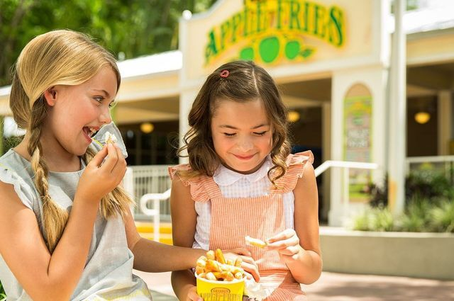 Granny's Apple Fries at Legoland Florida - Merlin Entertainments Group
