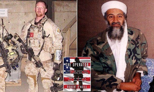 Robert O'Neill, the Navy SEAL who said he killed Osama Bin Laden, describes the moment he pulled the trigger and shot the world's most wanted man in the head in his new book, The Operator.
