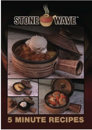 Stone Wave Microwave Cookware Recipe Booklet from TELEBrands