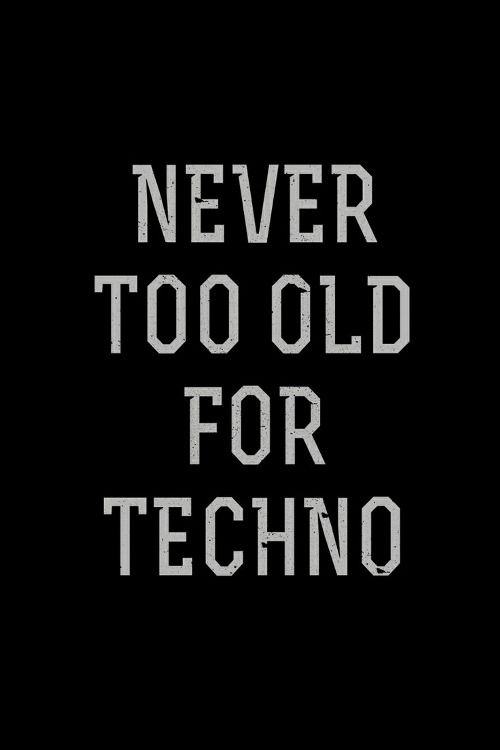 never ..... #techno #music