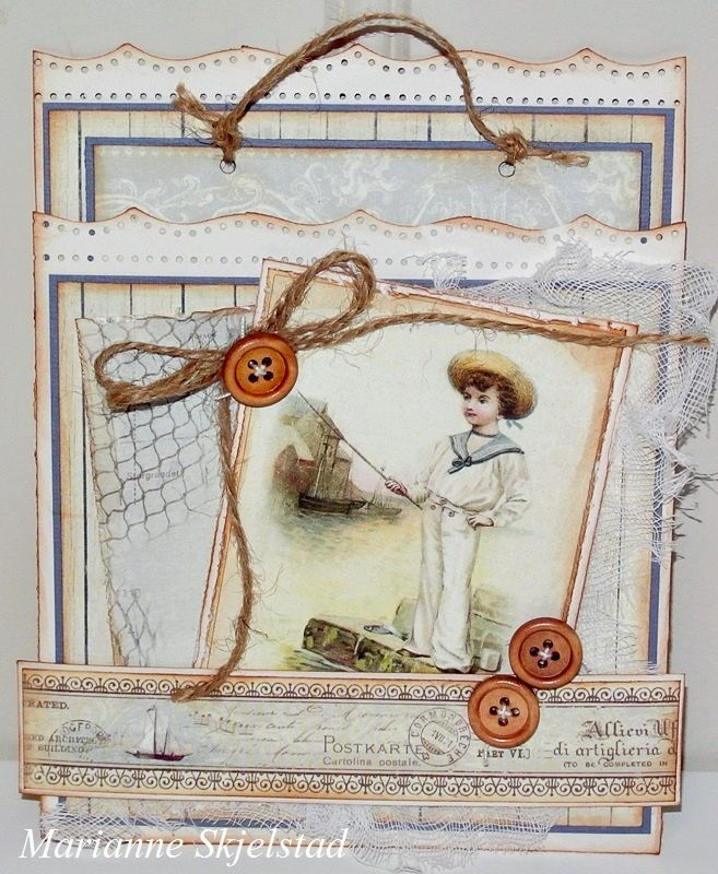 Card by Marianne, featuring the Shoreline Treasures collection: