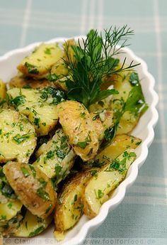 Kartoffelsalat ohne Mayonnaise