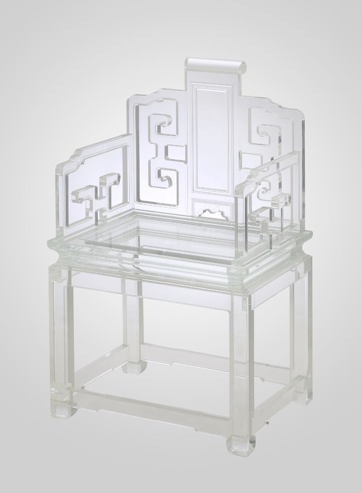 Lovely Lucite Chair By Spectrum Collection! I Love A Little Asian Influence  In A Room ;) Would Love These Around Our Breakfast Table. Part 68