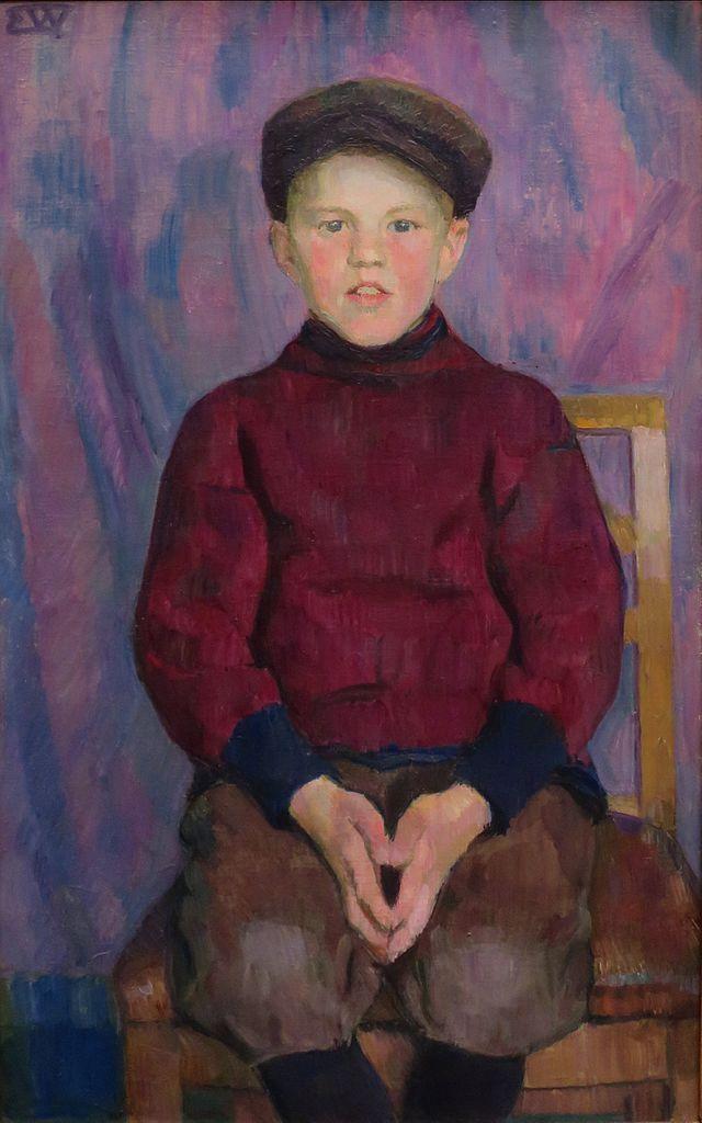 Erik Werenskiold - A Boy