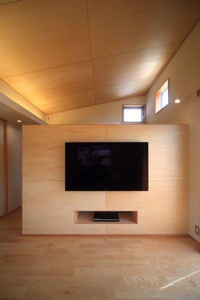 安カッコいい仕上げ材 シナベニヤ(シナ合板) の画像|建築士ママの自宅づくり