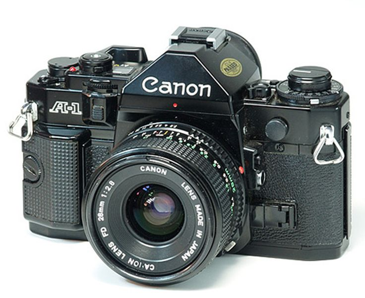 "Canon A1 - my long lost ""stolen"" camera. :(. It's beautiful!"
