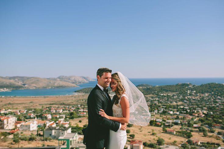 #destination #wedding in #Anavyssos Greece! Photo: George Pahountis. Bridal hair and makeup: Antigoni Livieratou