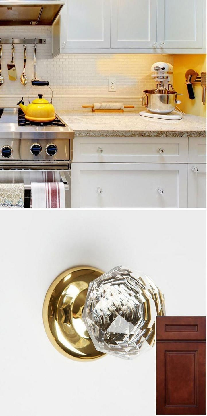 Before you buy - - changing oak kitchen cabinets to white ...