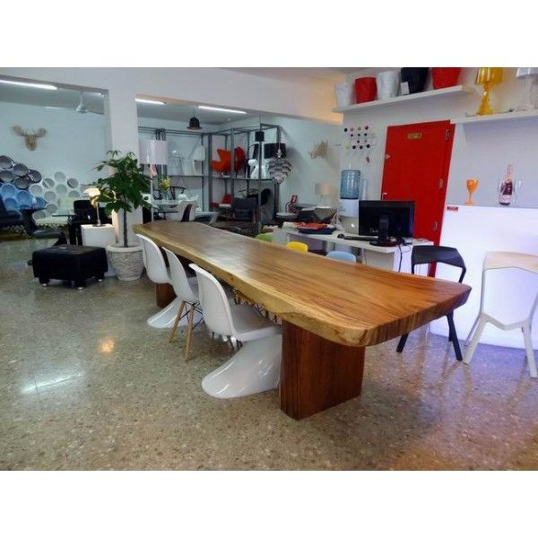Our Shop with big indonesian dining table