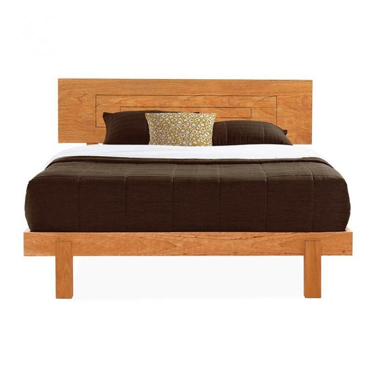 Loft Platform Bed Shown In Natural Cherry, Available At Vermont Woods  Studios