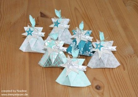 Goodie Stampin Up Origami Bag Verpackung Give Away Gift Idea 002