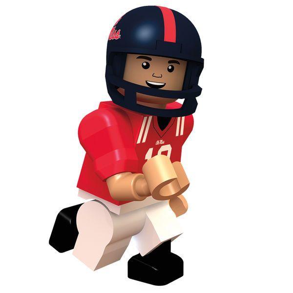 Eli Manning Ole Miss Rebels OYO Sports College Minifigure