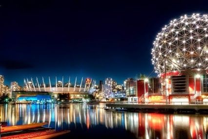 Stunning photo of #ScienceWorld, one of Vancouver Heritage Foundation's 125 #PlacesThatMatter