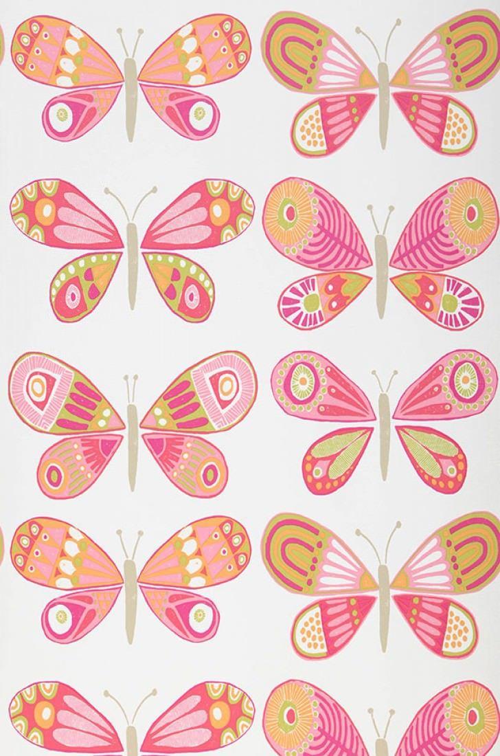 Fantasy Butterflies Tessuti E Carta Da Parati Sanderson Pinterest