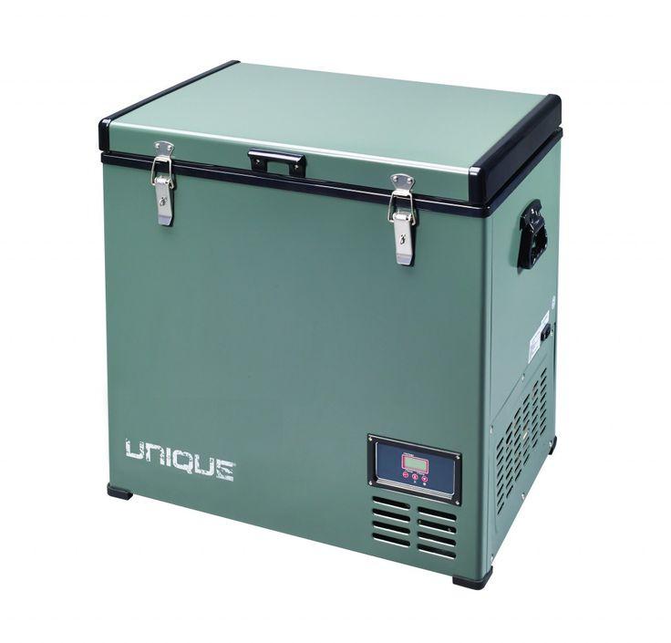 Unique Off Grid UGP-80L1 Unique Portable Solar AC/DC Powered Fridge/Freezer - 80 Litres