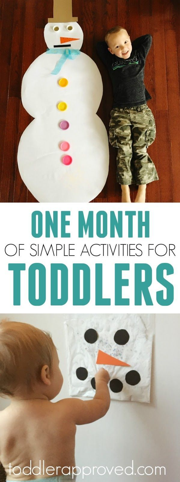 A Month of Simple Activities for Toddlers! Subscribe to our FREE Toddler Approved Newsletter. Get our FREE monthly calendar with activity ideas!