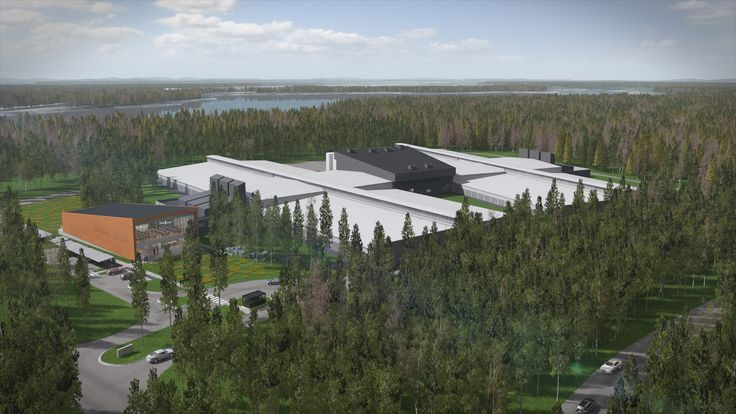 The Facebook Rapid Deployment Data Center in Sweden is taking a modular approach to the facility's design and construction, Facebook claims that the centers can be built and deployed twice as fast as comparable facilities. #infrastructure100