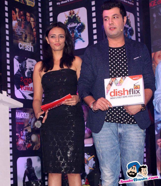 Roshni Chopra at the Launch of Dishflix -- Roshni Chopra and Varun Sharma Picture # 314715