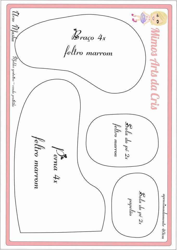 Moldes del Oso de Masha en Fieltro Moldes para hacer el simpático y famoso Oso de Masha en Fieltro. Molde de Muñeca bebé con chupete en fieltroMolde Bebé en FieltroPatrón Muñeca de FieltroLinda gatita en fieltro con patronesLa Bella y La Bestia en fieltro con moldesMoldes muñeca embarazada en fieltroDIY Oso de NavidadDIY …