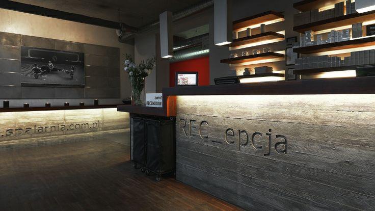 Recepcja  - Hotelarnia - Poznań, #design categories, #designhotel, #best hotels, #poland, #hotel, #Hotelarnia, #SPA, #Wellness, #Poznan