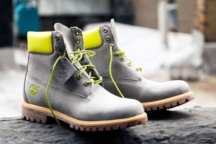 """DTLR x Timberland 6"""" Boot """"Safety Grey"""""""